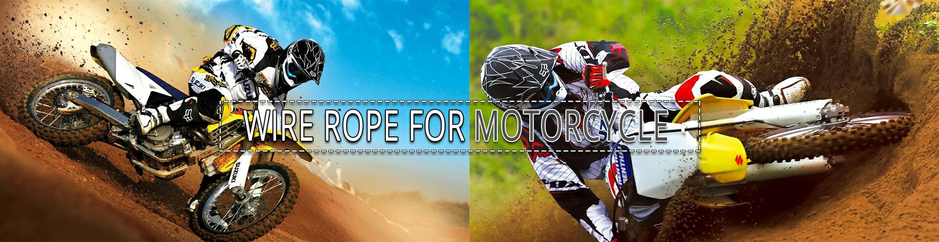 pswirerope wire rope for motorcycle